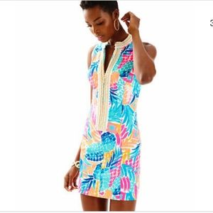 Lilly Pulitzer Alexa Goombay Smashed Shift Dress